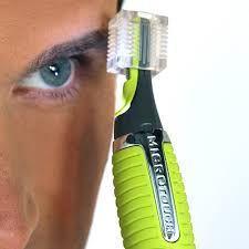 Imagem de Aparador de cabelo e pelos nariz orelha barba sobrancelha para corpo e rosto com luz led