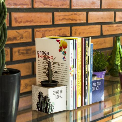 Imagem de Aparador de Livros Cactos Apoio Bibliocanto