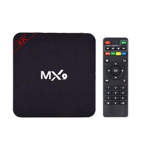 Imagem de Aparelho Box MX9 Android 8.1 16gb HEVC h.265