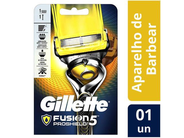 Imagem de Aparelho de Barbear Gillette Fusion