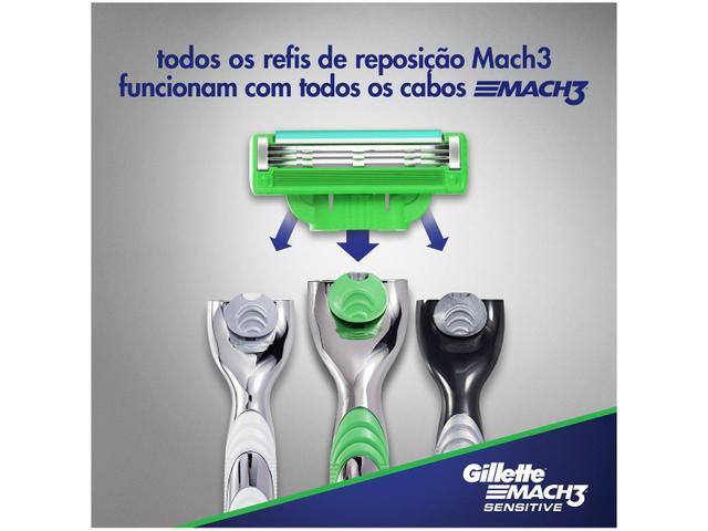 Imagem de Aparelho de Barbear Gillette Mach3 Aqua-Grip
