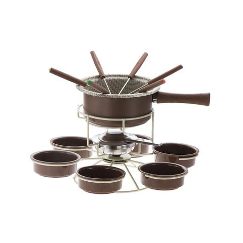 Imagem de Aparelho de Fondue Chocolate Antiaderente Carrousel 15 peças Forma
