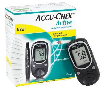 Imagem de Aparelho de glicemia accu check active (kit)  - roche