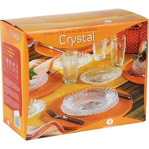 Imagem de Aparelho de Jantar 16 Peças de Vidro 2642 Crystal Wheaton