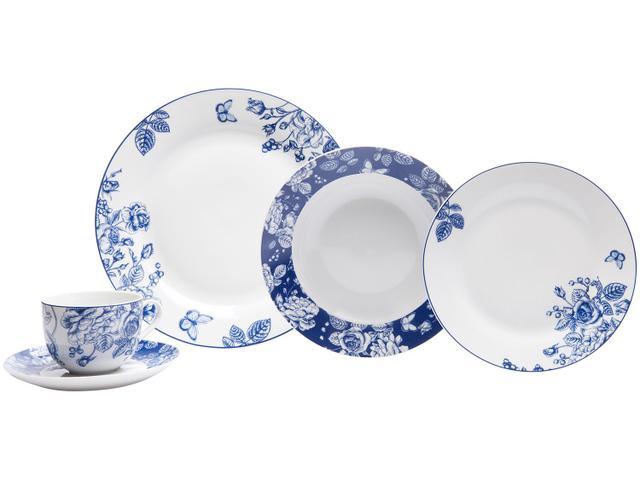 Imagem de Aparelho de Jantar 20 Peças Casambiente Porcelana