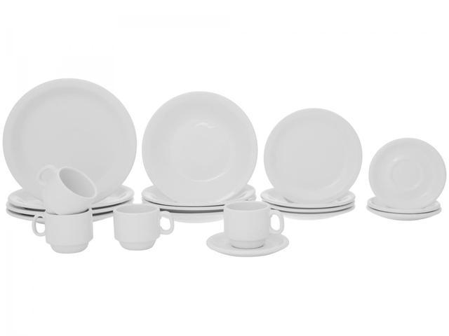 Imagem de Aparelho de Jantar 20 Peças Porcelarte Cerâmica