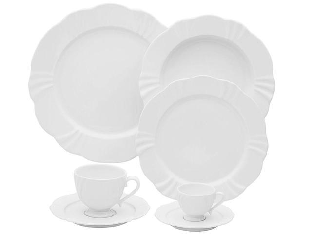 Imagem de Aparelho de Jantar 42 Peças Oxford Porcelana