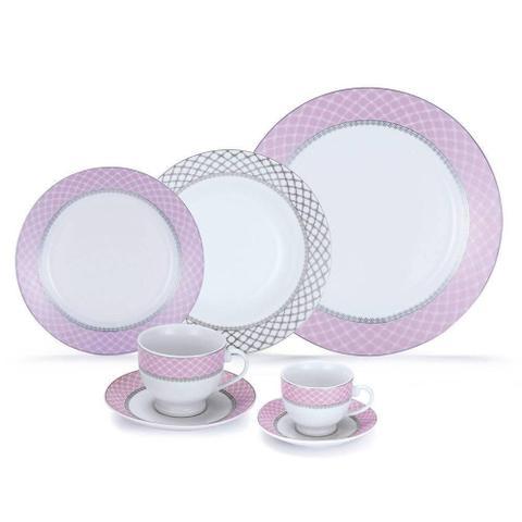 Imagem de Aparelho de Jantar 42 Peças Porcelana Royal Castle - 002