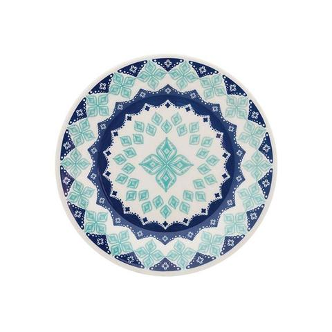 Imagem de Aparelho De Jantar Biona Lola Cerâmica 20 Peças Azul