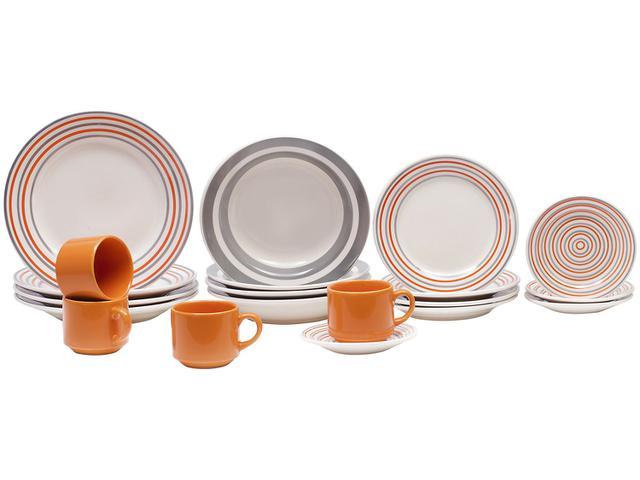 Imagem de Aparelho de Jantar Chá 20 Peças Biona Cerâmica