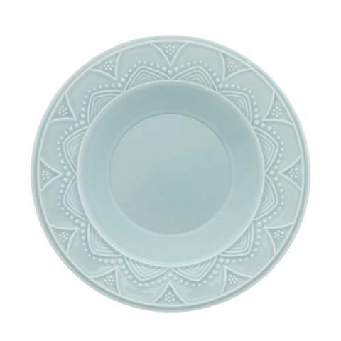 Imagem de Aparelho De Jantar Oxford Serena Essence Cerâmica 20 Peças Azul