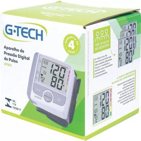 Imagem de Aparelho De Medir Pressao Arterial Automatico De Pulso G-TECH Premium