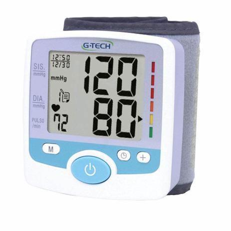 Imagem de Aparelho De Medir Pressão Arterial Digital De Pulso G-tech - GP200