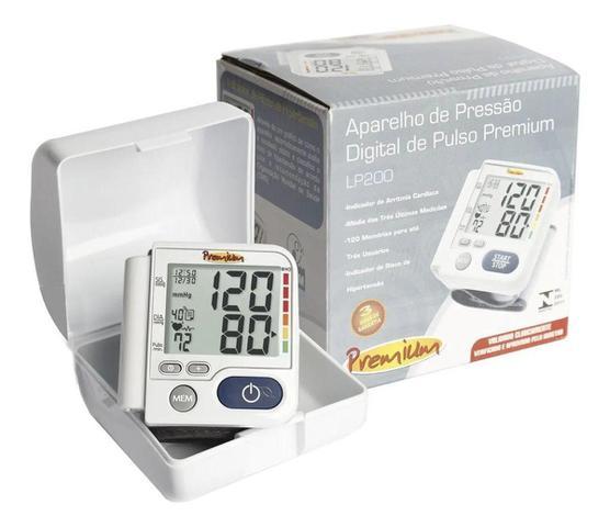 Imagem de Aparelho De Medir Pressão Digital Automático De Pulso