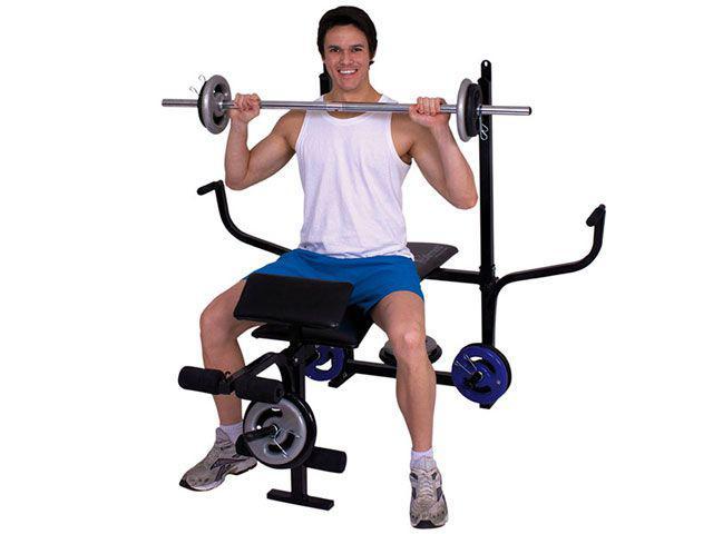 Imagem de Aparelho de Musculação com Crucifixo