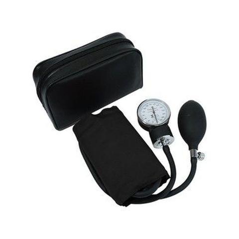Imagem de Aparelho De Pressão Esfigmomanometro Adulto com Braçadeira PRETO Premium