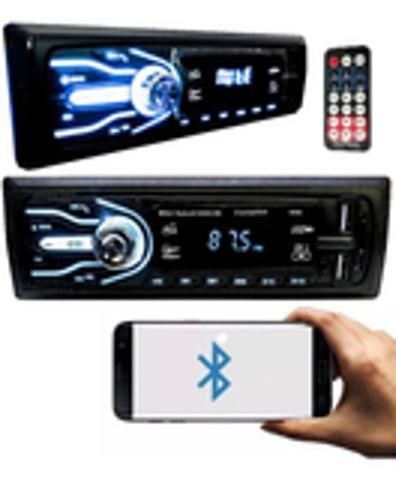 Imagem de Aparelho De Som 4x25W Carro Automotivo Bluetooth Pendrive Sd Rádio