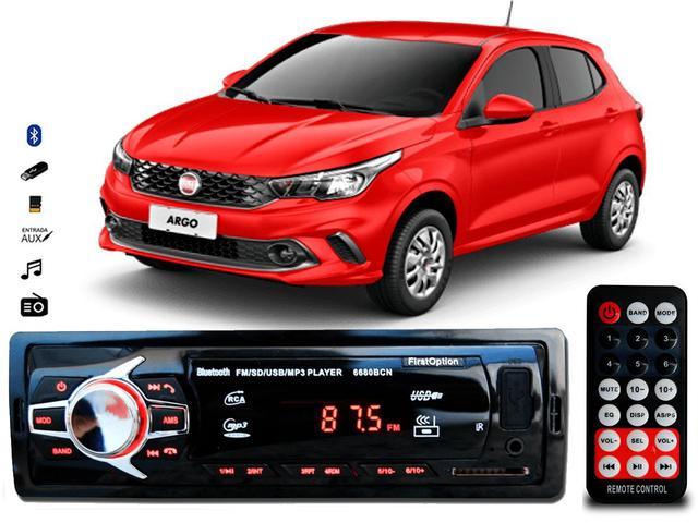 Imagem de Aparelho De Som Mp3 Fiat Argo Bluetooth Pendrive Rádio