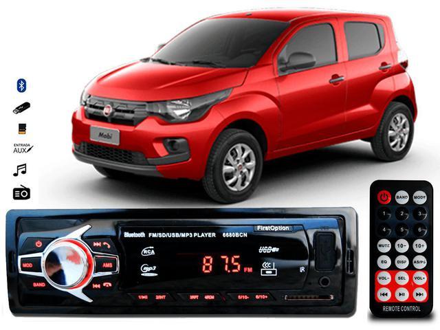 Imagem de Aparelho De Som Mp3 Fiat Mobi Bluetooth Pendrive Rádio