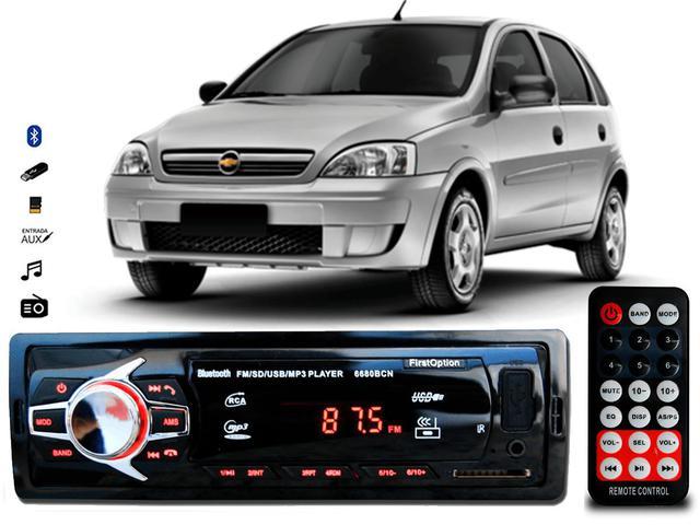 Imagem de Aparelho De Som Mp3 Gm Corsa Bluetooth Pendrive Rádio