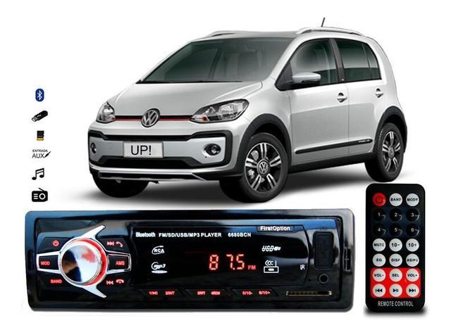 Imagem de Aparelho De Som Mp3 Volks Up! Novo Bluetooth Pendrive Rádio