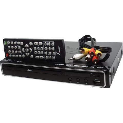 Imagem de Aparelho Dvd Player Hdmi Hd 5.1 Canais Rca Usb Mp3 Função Karaoke Knup KP-D112 Preto Bivolt