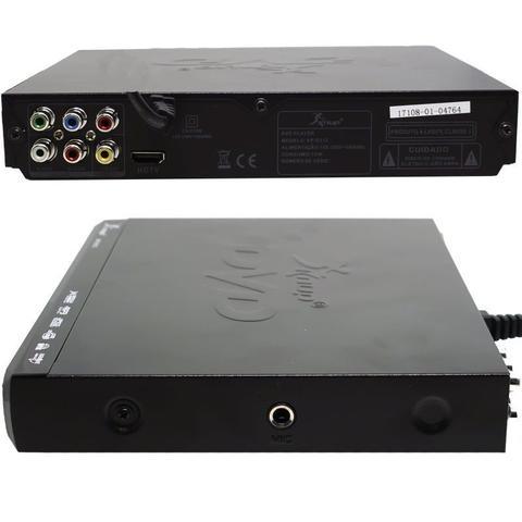 Imagem de Aparelho Dvd Player Hdmi Hd 5.1 Rca Usb Mp3 Função Karaoke Microfone Knup KP-D112 Preto Bivolt