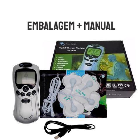 Imagem de Aparelho Fisioterapia Acupuntura Digital Machine Tens e Fes