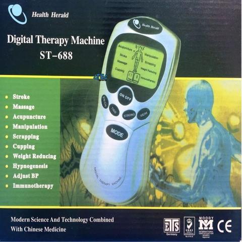 Imagem de Aparelho Fisioterapia Acupuntura Massageado Digital St-688