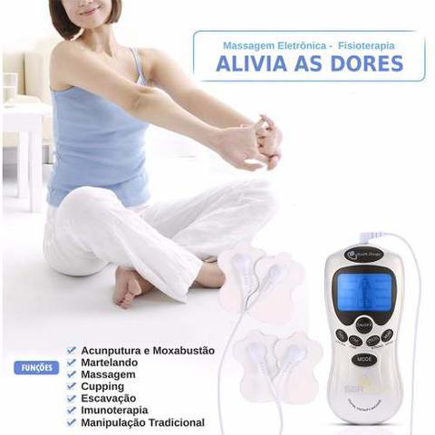 Imagem de Aparelho Fisioterapia Acupuntura Massageador Elétrico Massagem Tratamento Choque