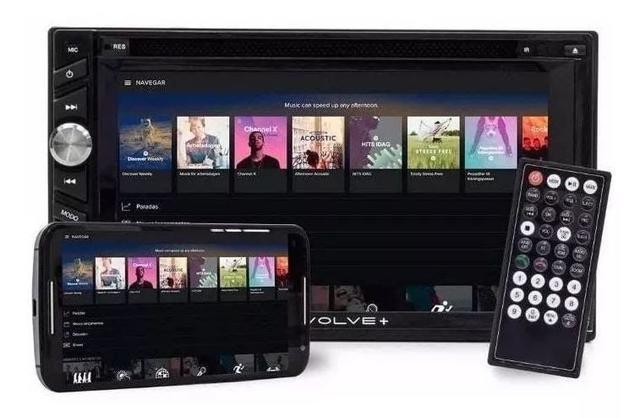 Imagem de Aparelho gps evolve tv 6,2 pol. dvd 4x50w bt/fm/am/sd/usb/aux gp043