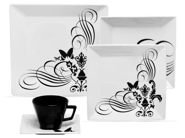 Imagem de Aparelho Jogo de Jantar Chá e Café Oxford Mail Order Quartier Tattoo 42 Peças