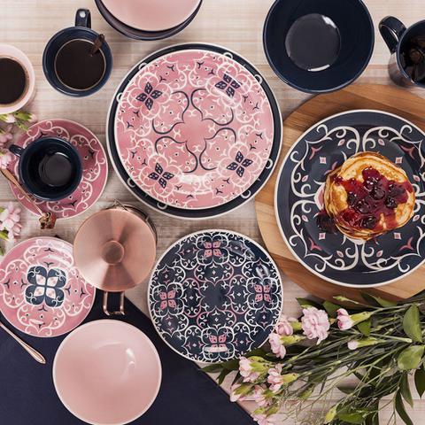 Imagem de Aparelho Jogo de Jantar e Chá Louça Oxford Mail Order Hana com 30 peças