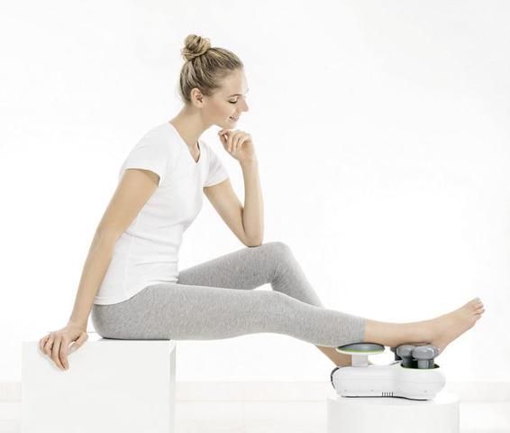 Imagem de Aparelho massageador muscular para pernas fm 200 - beurer