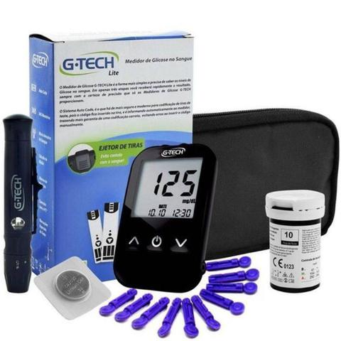 Imagem de Aparelho Medidor De Glicose Glicosimetro Glicemia Gtech