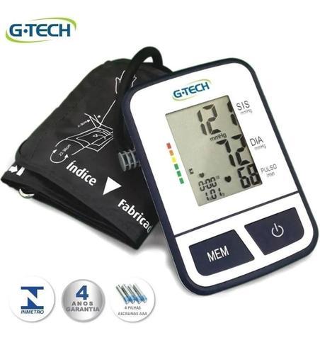 Imagem de Aparelho Medidor De Pressão Arterial Digital Automático De Braço G-Tech BSP11