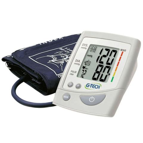 Imagem de Aparelho Medidor De Pressão Arterial Digital Automático De Braço G-Tech LA250
