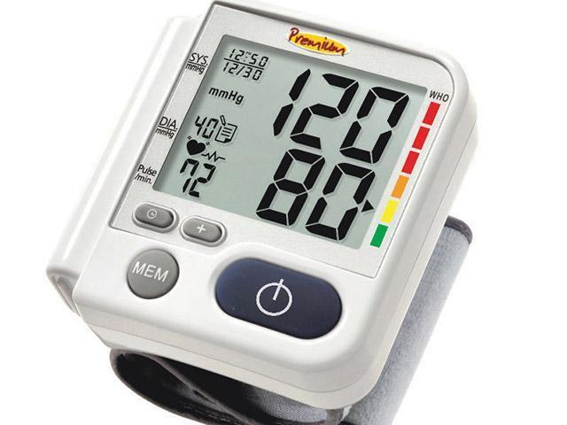 Imagem de Aparelho Medidor de Pressão Arterial Digital