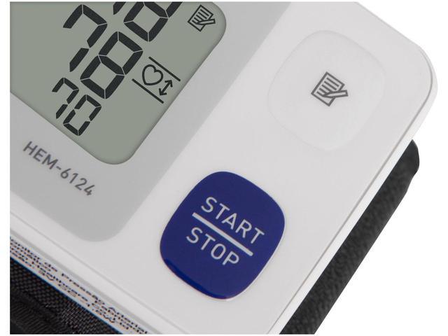 Imagem de Aparelho Medidor de Pressão Arterial Digital - Esfignomanômetro Automático de Pulso Omron