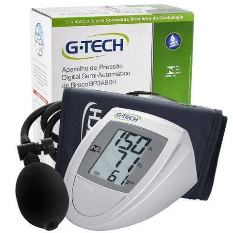 Imagem de Aparelho Medidor De Pressão Arterial Digital Semi Automático De Braço G-Tech