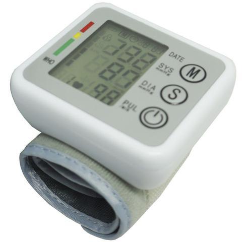 Imagem de Aparelho Medidor de Pressão Arterial e Pulsação Digital Voz Automático Punho Next Trading ZK-W863PB