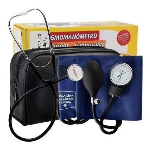 Imagem de Aparelho Medidor De Pressão Arterial Manual Esfigmomanômetro