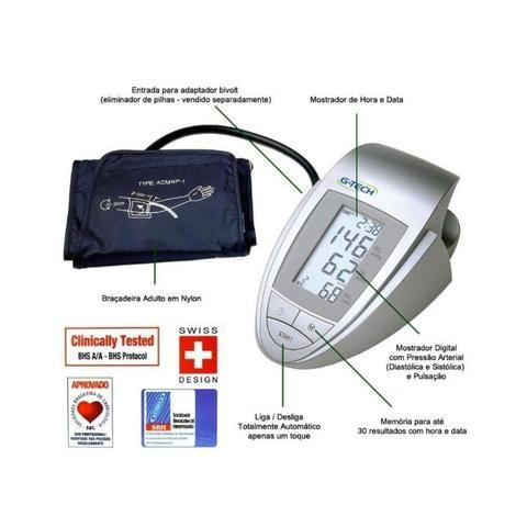 83ac3ce2c Aparelho Medidor de Pressão Digital de Braço G-Tech BP3AA1 - Medidor ...
