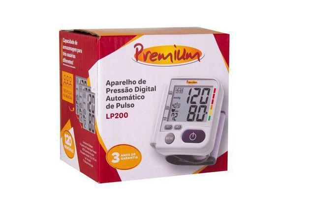 Imagem de Aparelho Monitor Pressão Arterial Digital Pulso Lp200 Premium