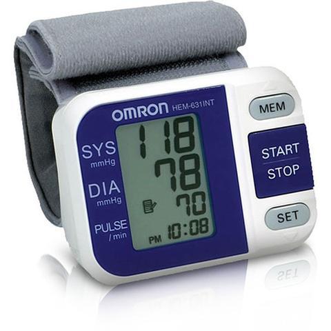 Imagem de Aparelho para medir pressao automatico de pulso omron - ref: 631