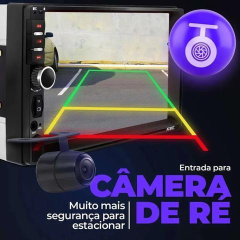 Imagem de Aparelho Rádio Automotivo Dvd Universal Bluetooth Aux Usb Som