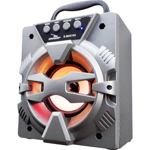 Imagem de Aparelho receptor de radiofusão Bluetooth FM SD DBH3103