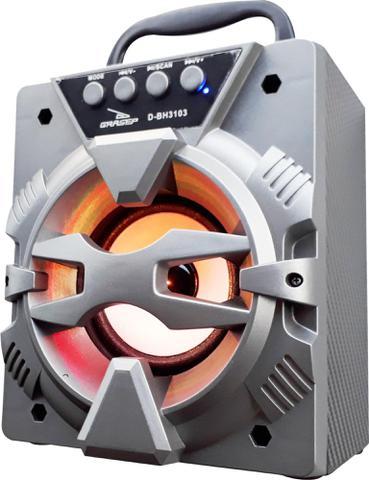 Imagem de Aparelho receptor de radiofusão Bluetooth fm Sd Usb hifi D-BH 3103 - Grasep