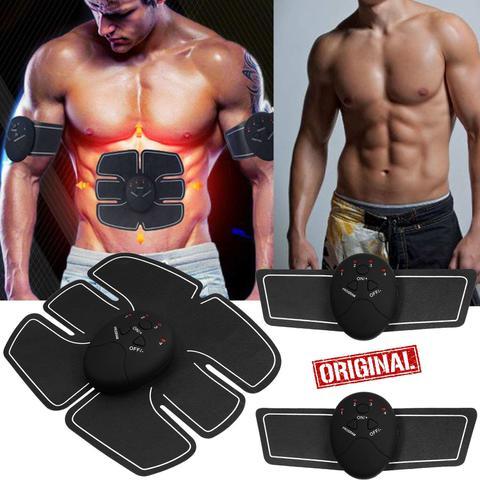 Imagem de Aparelho Tonificador Muscular Estimulador Abdominal Elétrico Fitness Academia Braço Abdômen Ems Smart Control Emagrecer