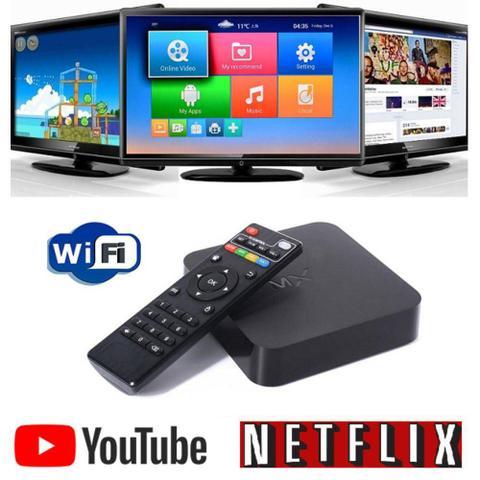 Imagem de Aparelho Transformar Tv Em Smartv Tv Mq 4k